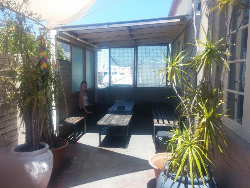 Schatten in Australien im Hostel
