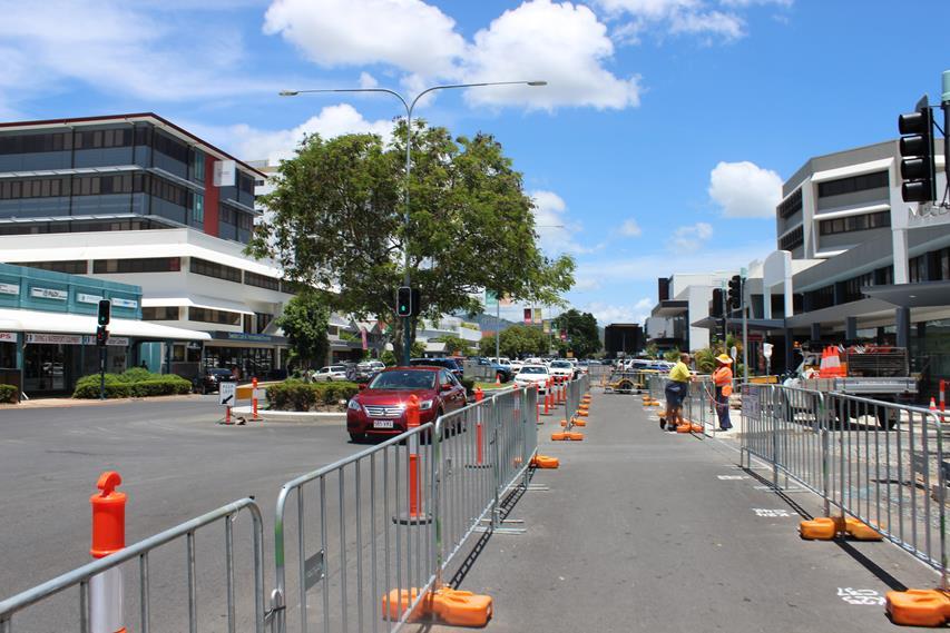 Baustelle in Australien