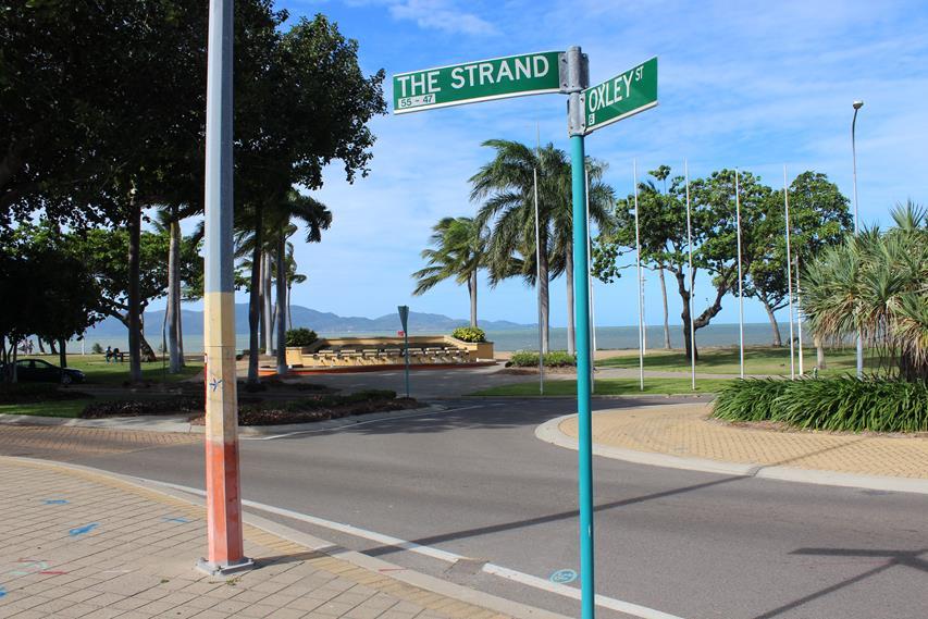 Lustiges Straßenschild in Australien