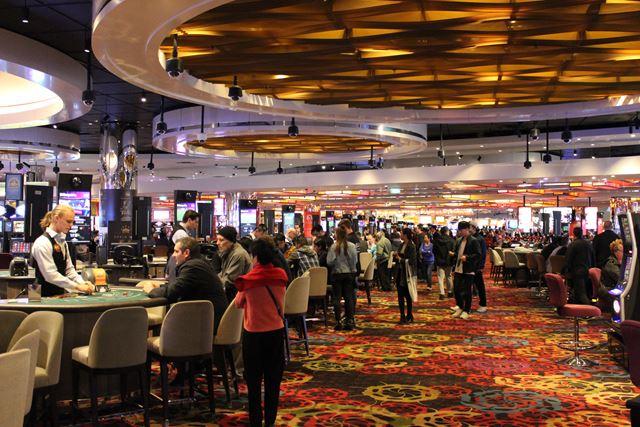 Hier siehst du das riesige Spiel Casino von innen