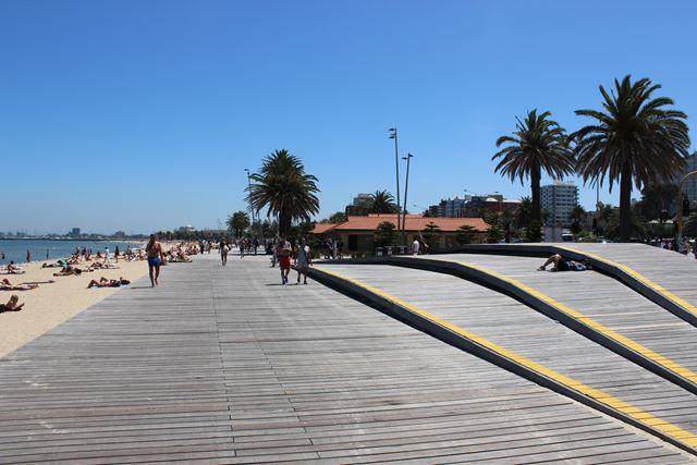 Promenade Strand St.Kilda