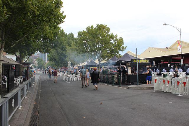 BBQ Foodstände in Australien